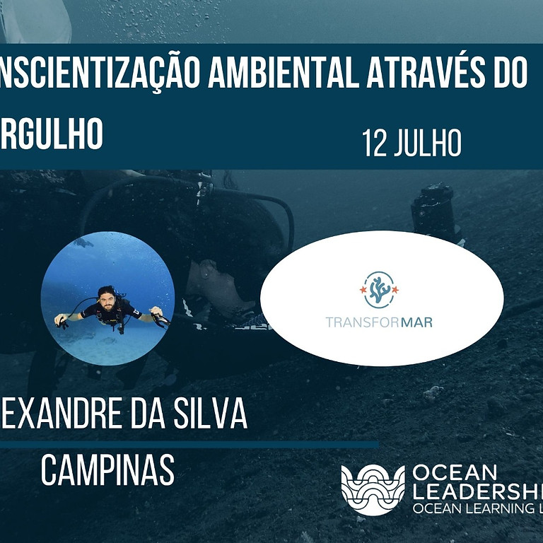 Webinar - Conscientização ambiental através de mergulho
