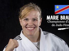 Marie Branser - Championne d'Afrique de judo