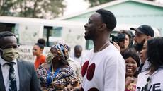 Dadju à Bukavu - Le chanteur au grand Cœur