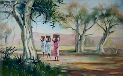 village-life-oil-paintings