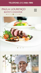 Ver todos os templates website templates – Buffet e eventos