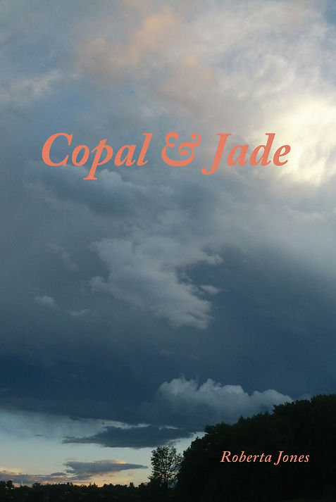 Copal & Jade poetry book