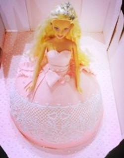 Cake Lace Doll