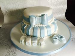 Hugo's Christening Cake