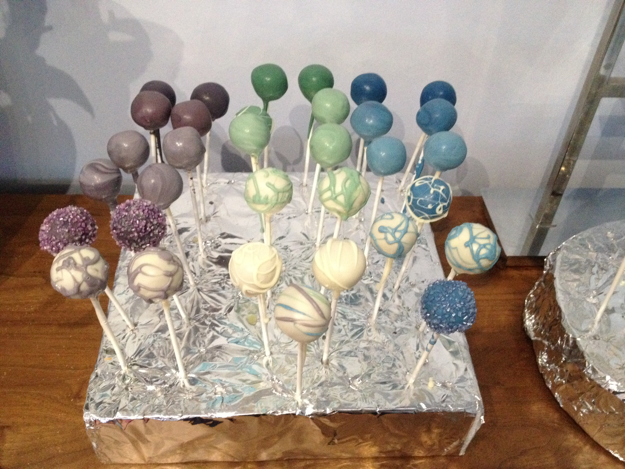 Ombre pops