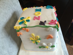 Quilling cake side