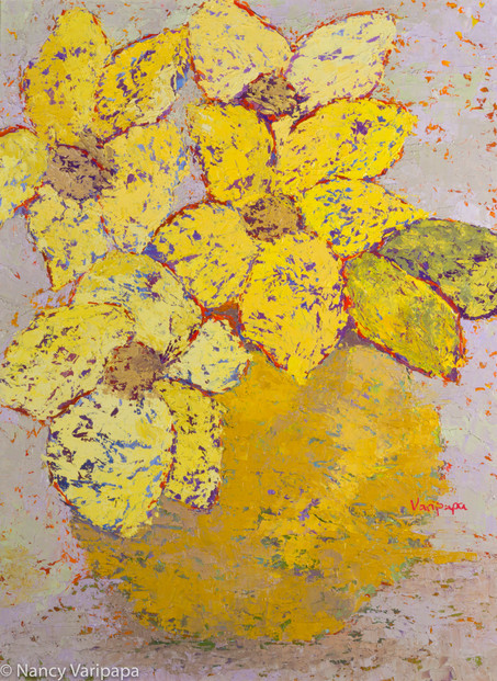 Yellow Flowers 18x24