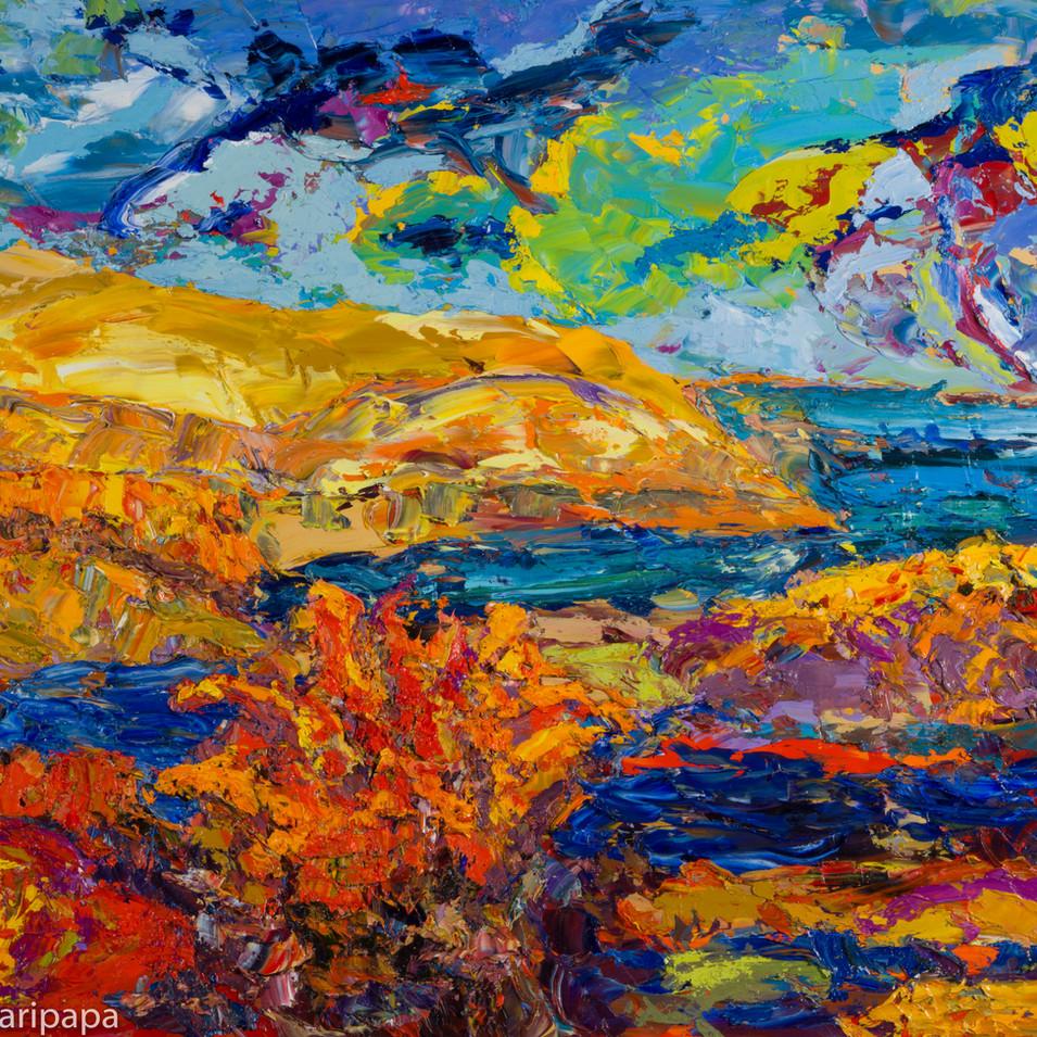 Land, Sky Sea III 24x18