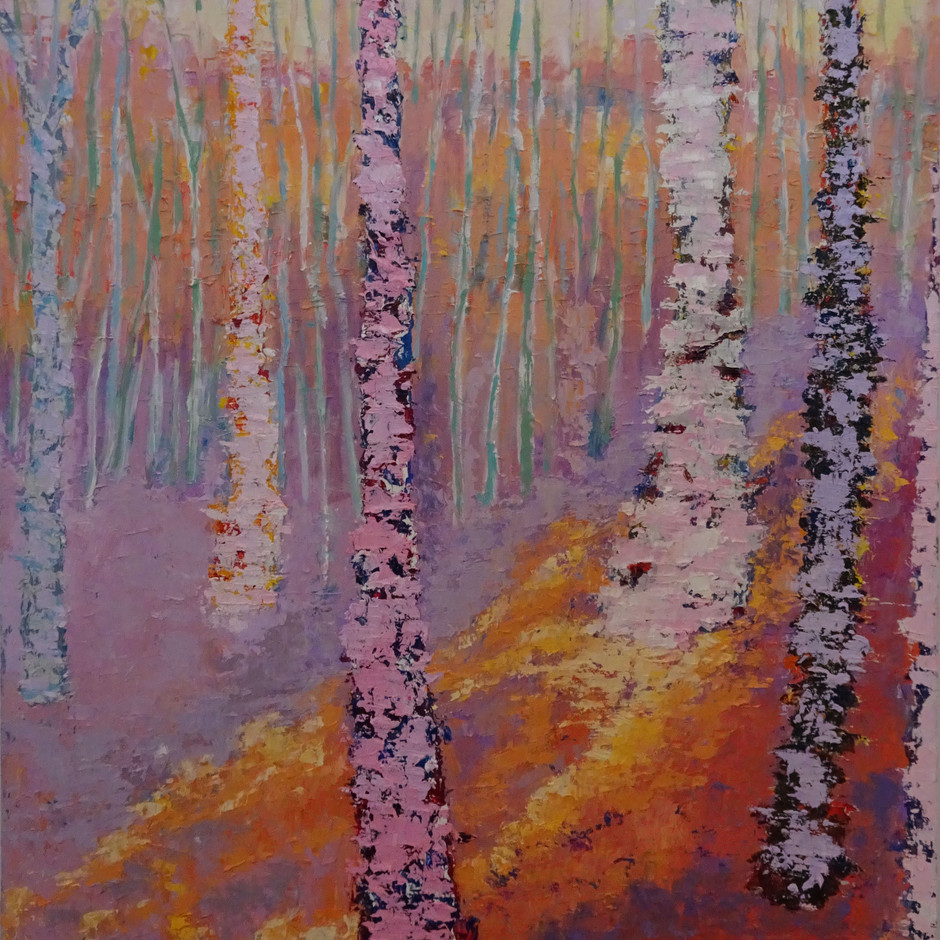 Sun in Forest 24x30