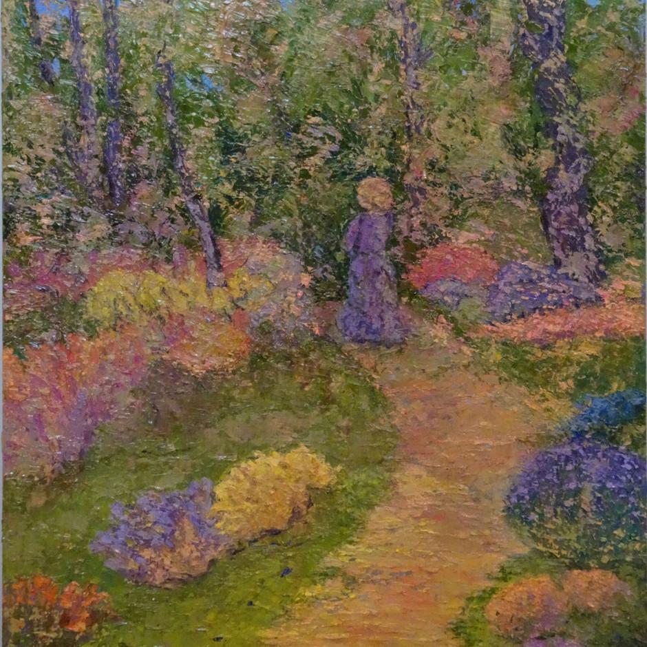 In Monet's Garden 18x24