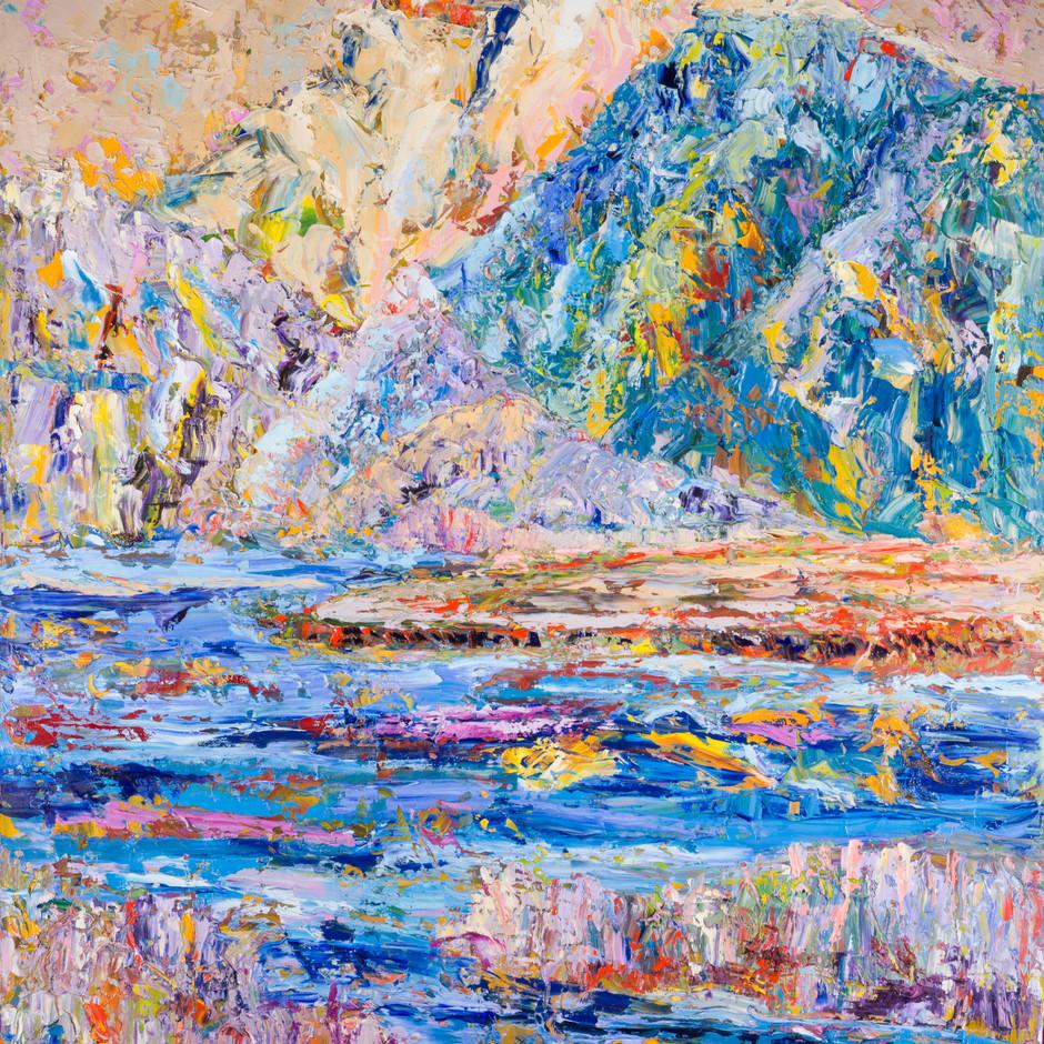 Land, Sky, Sea VI 30x40
