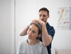 Joint neck pain and headaches physio Pen