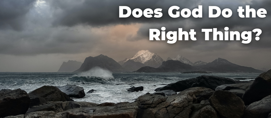 Does God Do the Right Thing?