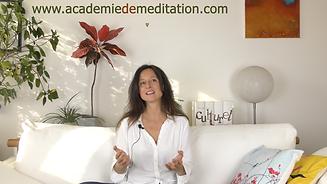 Mon approche de la méditation, c'est le bonheur!