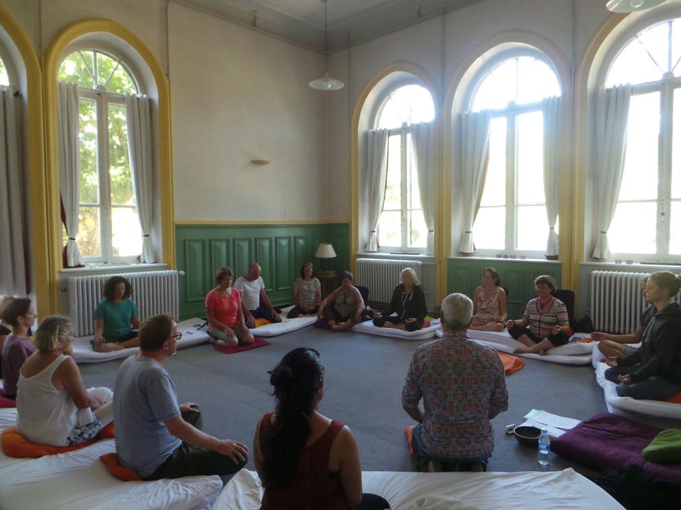 stage de méditation et de yoga nidra
