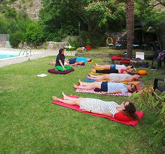Stage de méditation dans les Cévennes.