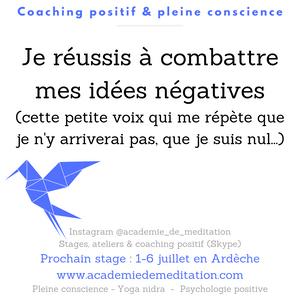 pleine conscience et psychologie positive