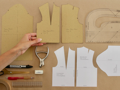 How to begin working with pattern blocks - The basics of pattern cutting - Part 2/3