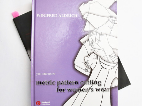 Book Review - Metric Pattern Cutting for Womenswear by Winifred Aldrich