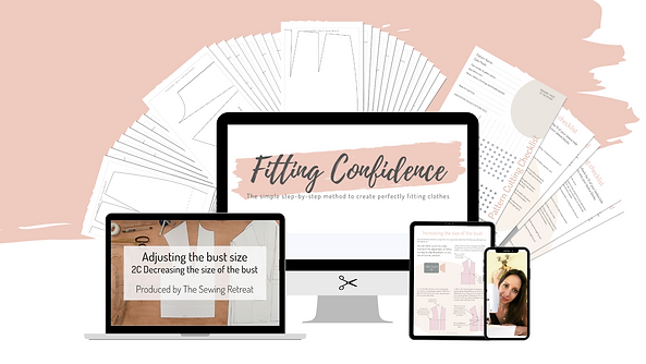 The Sewing Retreat Fitting Confidence -