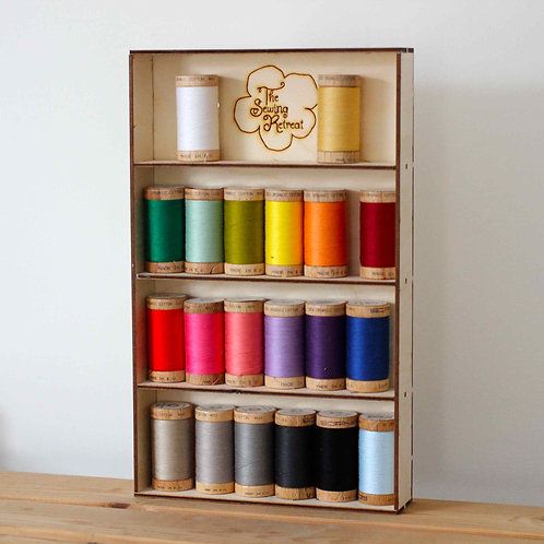 Eco-friendly Sewing Thread Shelves - Made in the UK from Birch Plywood
