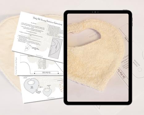 Baby Bib PDF Sewing Pattern & Instructions