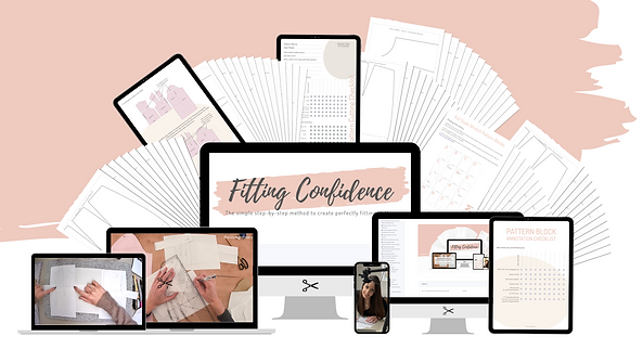 The Sewing Retreat_Fitting Confidence_Pattern Cutting Course_ Fitting Confidence_Overview.