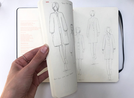 Book review - The Fashionary Womens A5 Sketchbook for quick and easy fashion design