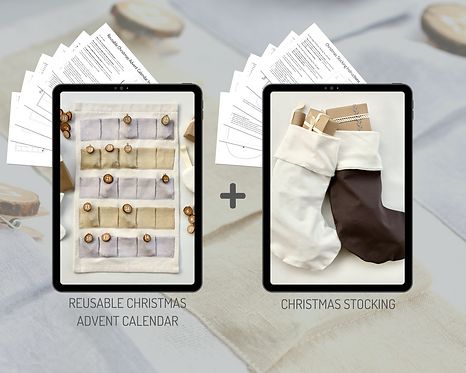 The Classic Christmas PDF Sewing Pattern Bundle - 2 x patterns