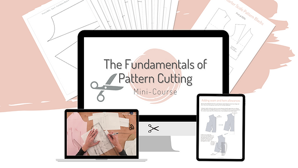 The fundamentals of pattern cutting_Mini