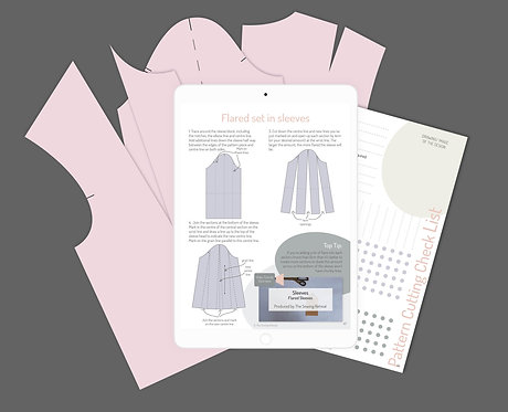 Online Tops and Shirt Pattern Cutting Course
