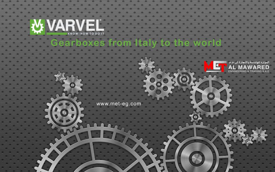 VARVEL Gear Box