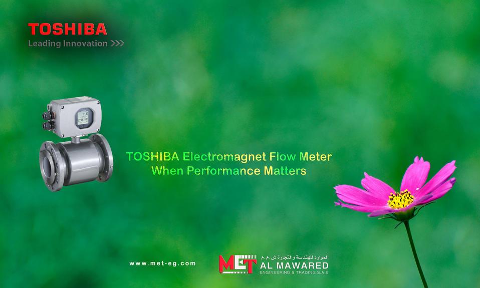 TOSHIBA Electromagent Flow Meter