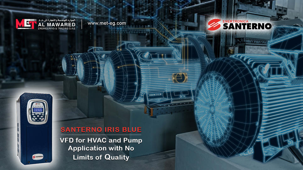 Santerno IRIS BLUE Inverter