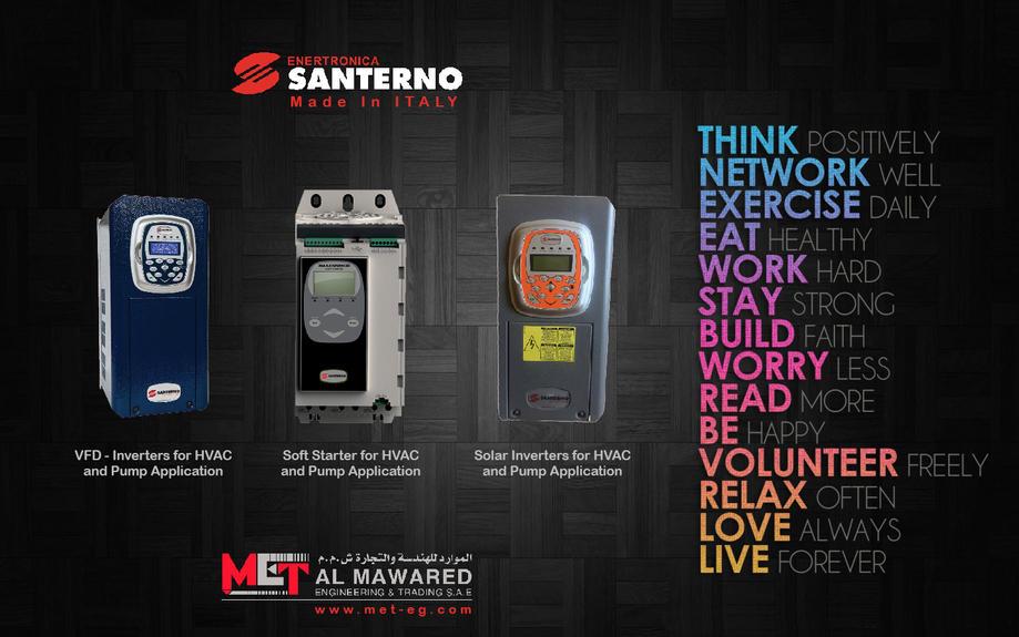 Santerno drives