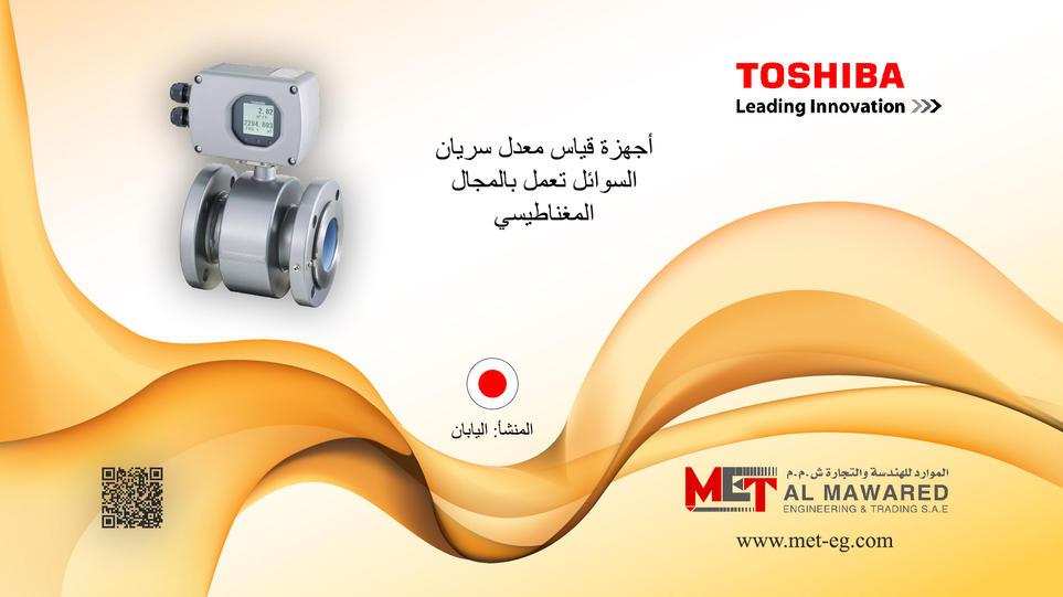 TOSHIBA Electromagent Flow meter - Egypt