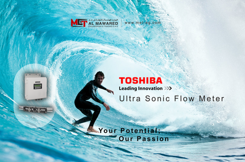 TOSHIBA ULTRA SONIC FLOW METER