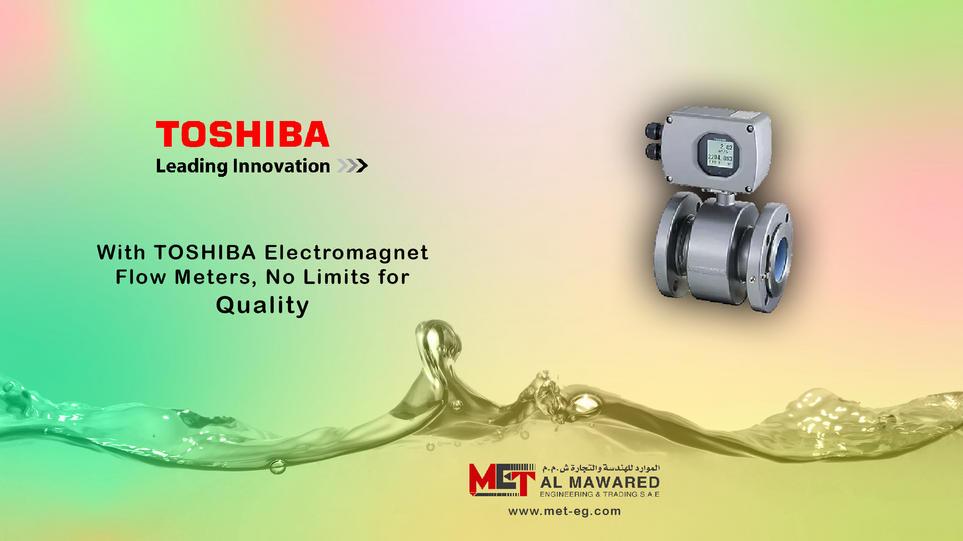 TOSHIBA Electromagnet Flow Meters