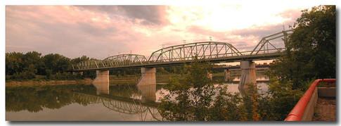 Finlay Bridge from City Hall Deck