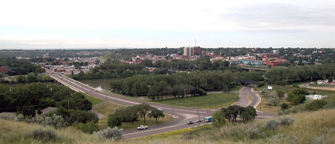 View from NECH Medicine Hat