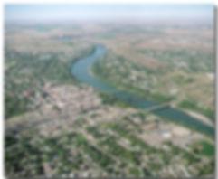 City Aerial Photo Lethbridge