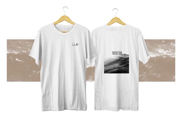 helianth midtide merch white shirt