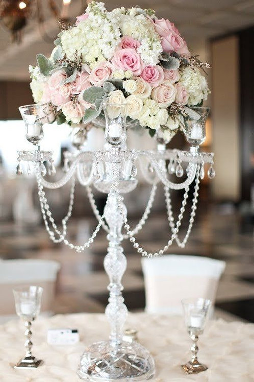 Crystal Statement Candelabra