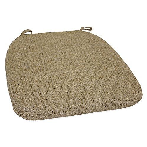 Burlap Chair Cushions
