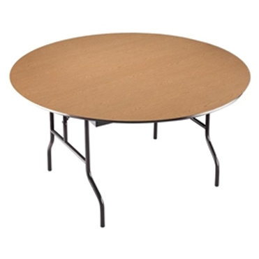 60 Inch Round Wooden Table