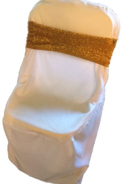 Universal White Chaircover