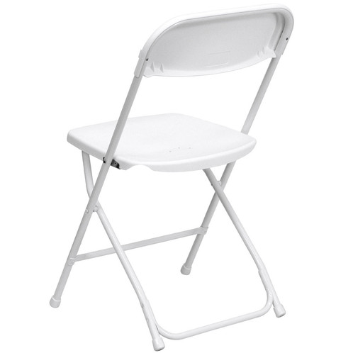 Plastic Fold Up Chair White