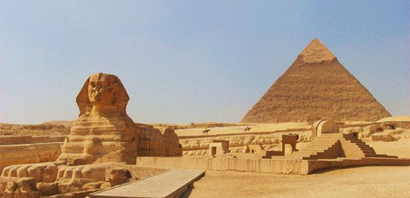 Las Piramides del Giza y la Esfinge