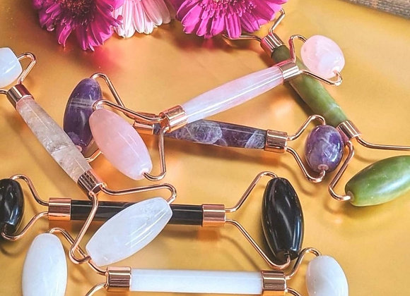 Natural Gemstone Facial Roller