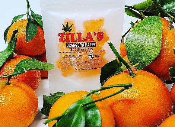 Zillas CBD Gummies 150mg